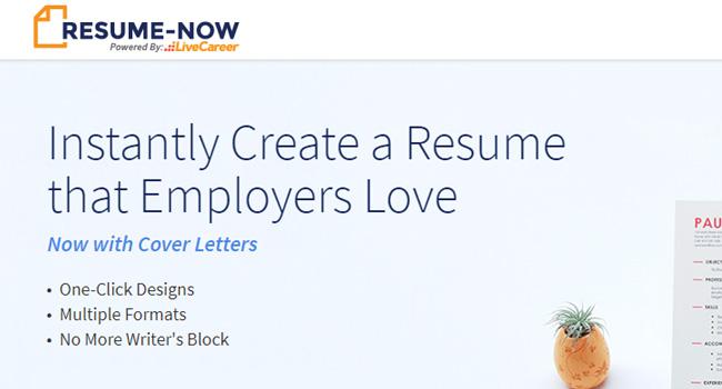 LiveCareer - Best Free Resume Builder