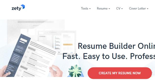Zety - Best Free Resume Builder