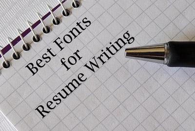 Best Fonts for Resume 2017
